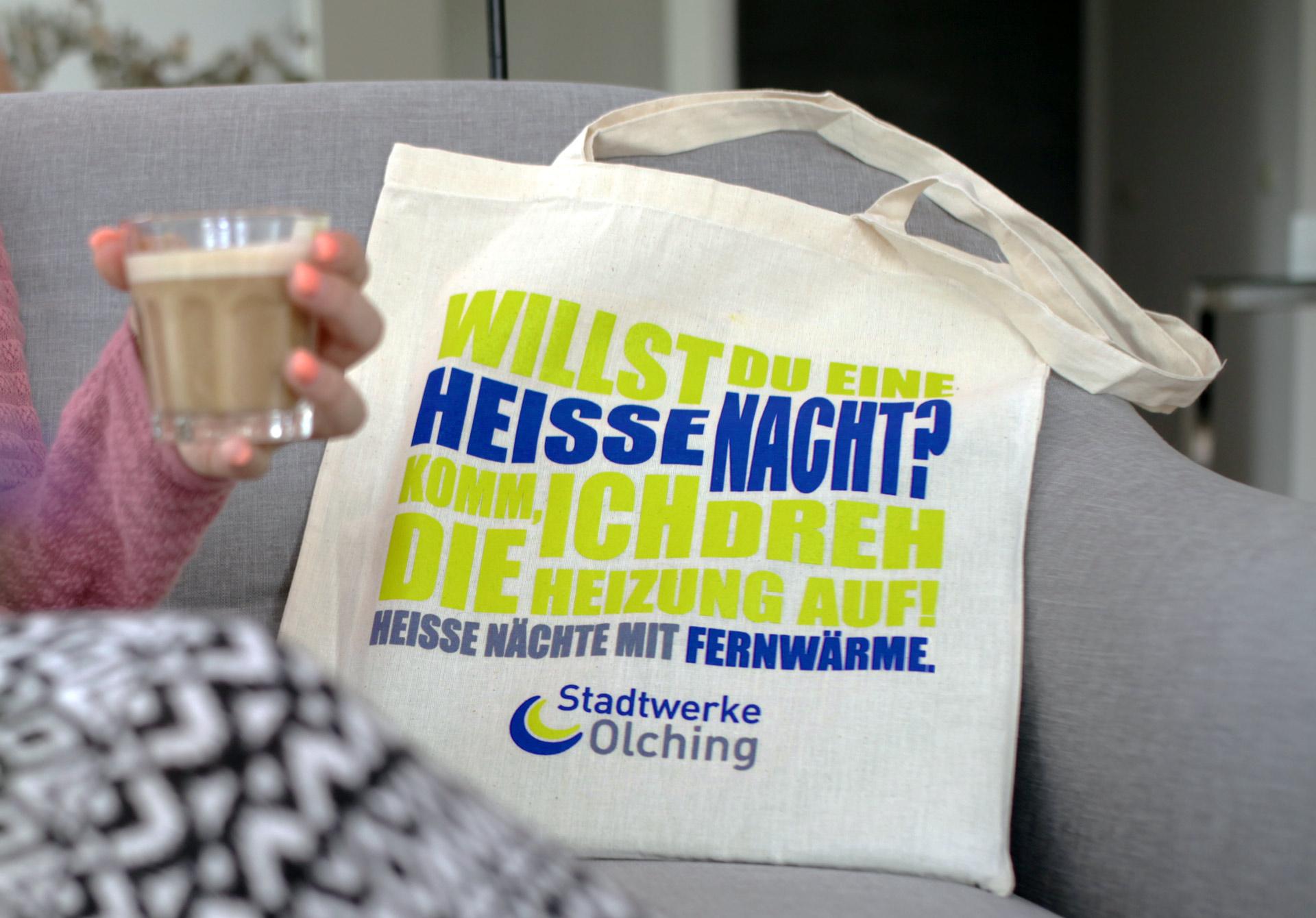 Stadtwerke Olching Tasche