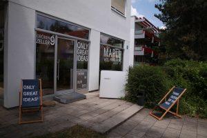 Eingang Werbeagentur Maple
