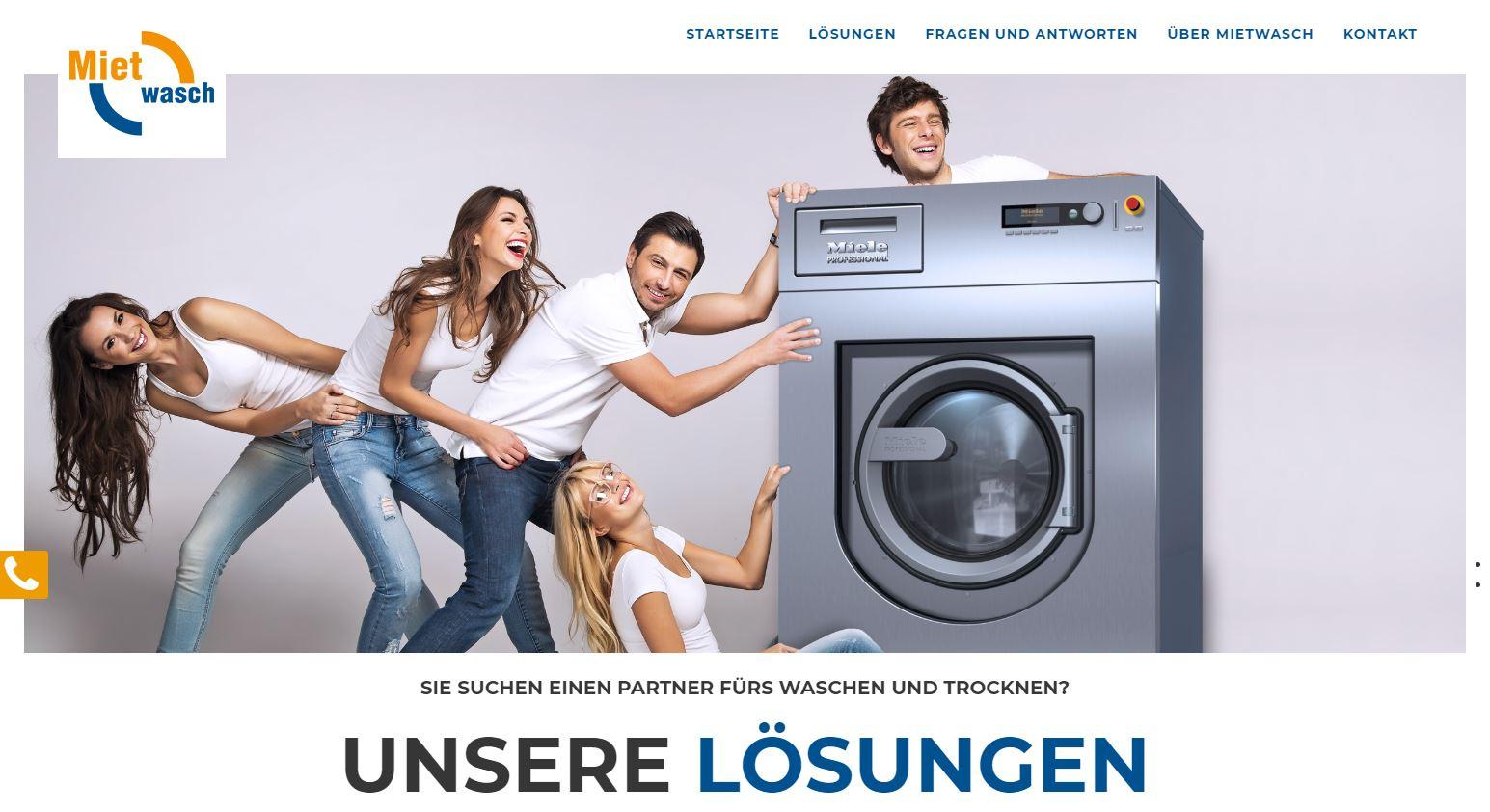 Mietwasch Homepage