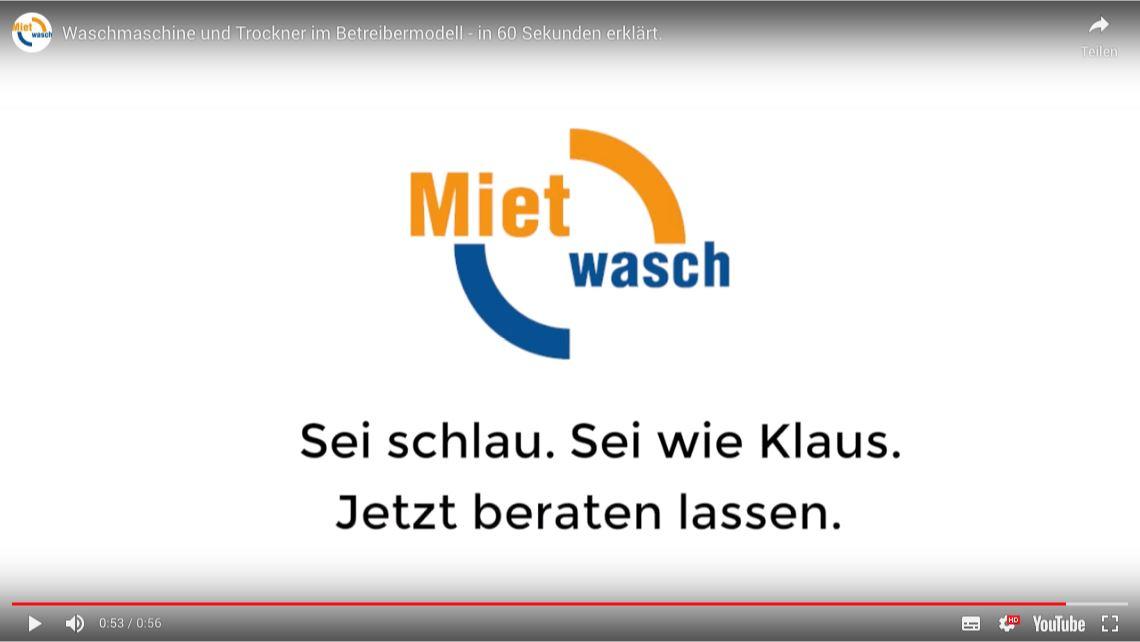 Videoausschnitt Mietwasch/Miele 3