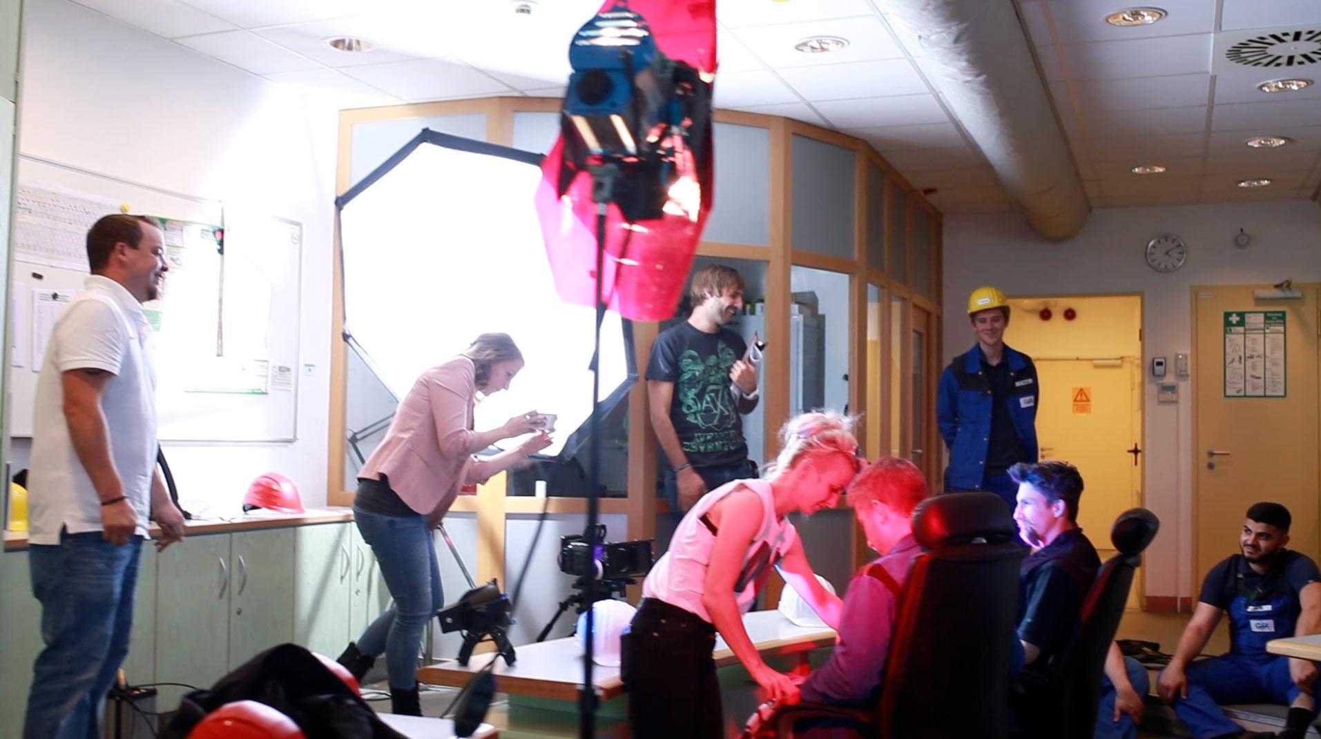 Making of Ausbildungsfilm GfA