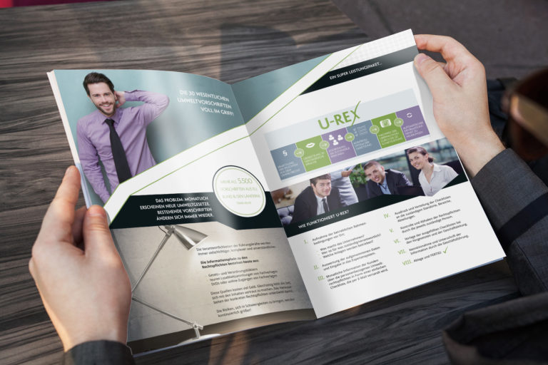 Printdesign Produktheft