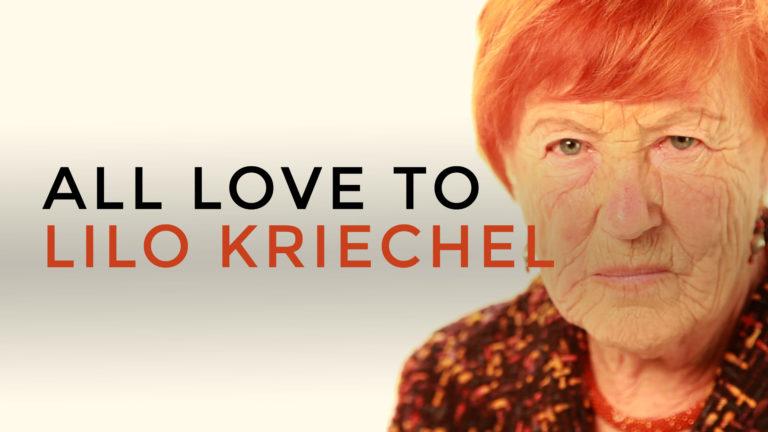 All Love to Lilo Kriechel